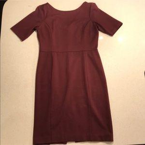 Wine Ann Taylor Dress
